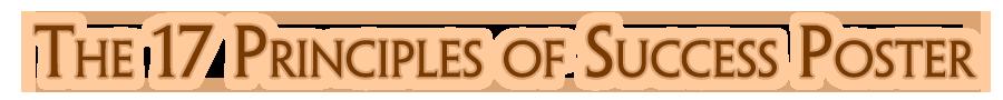 17PrinciplesPoster.com Logo