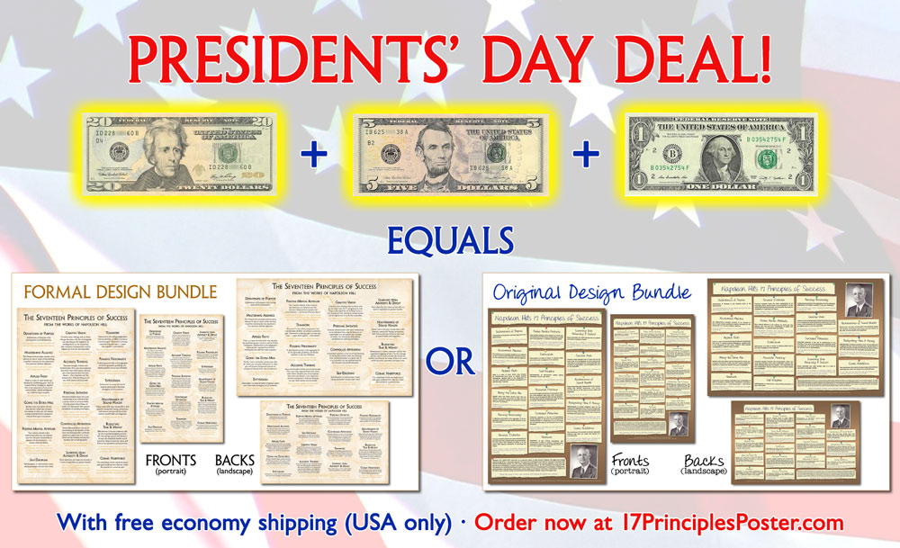 Presidents Day Bundle Sale